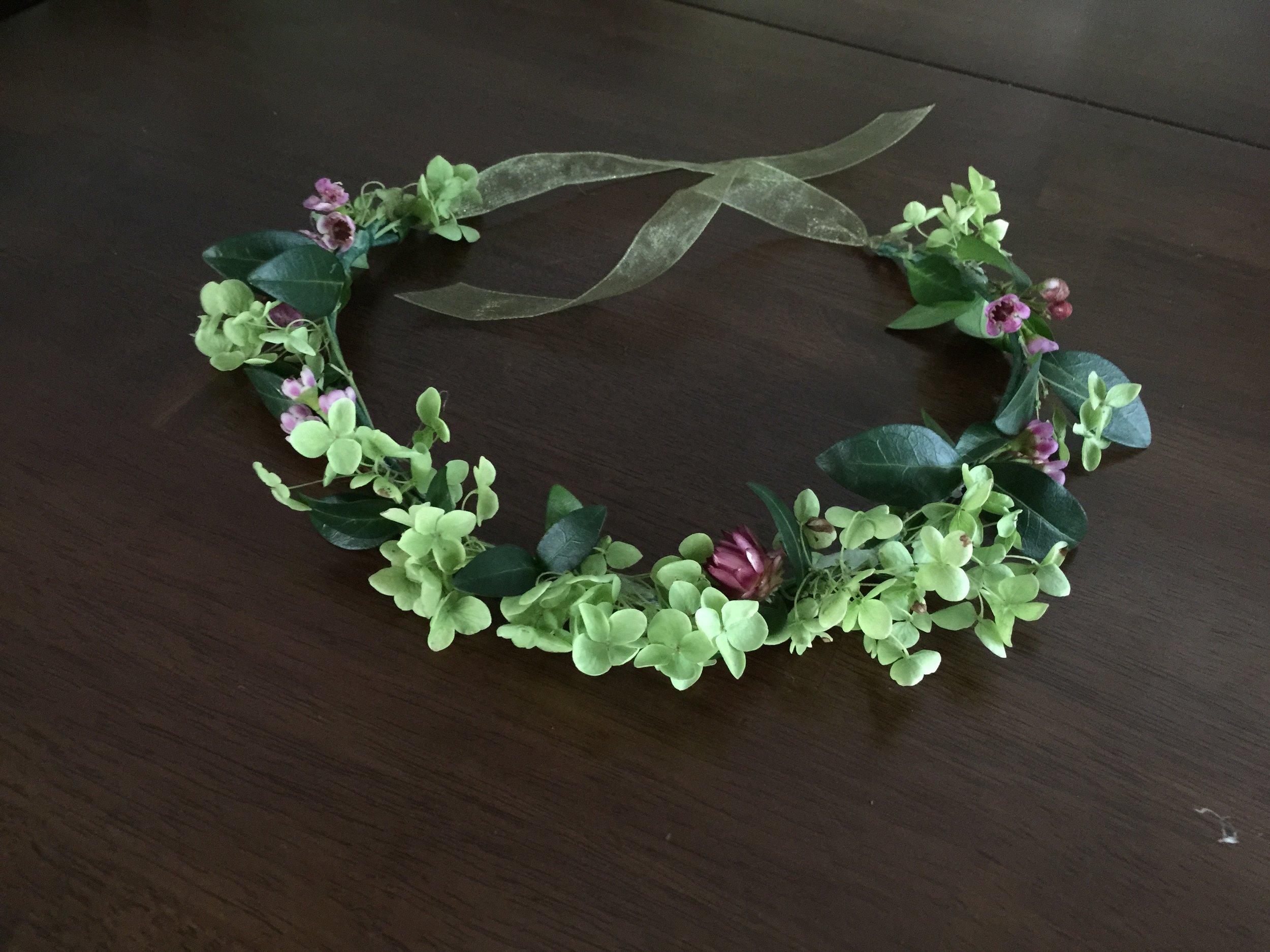 Petite Flower Crown