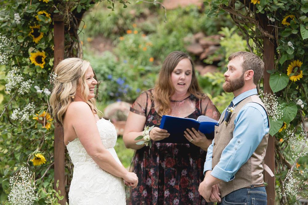 Fall Lyons Colorado Wedding Photographer