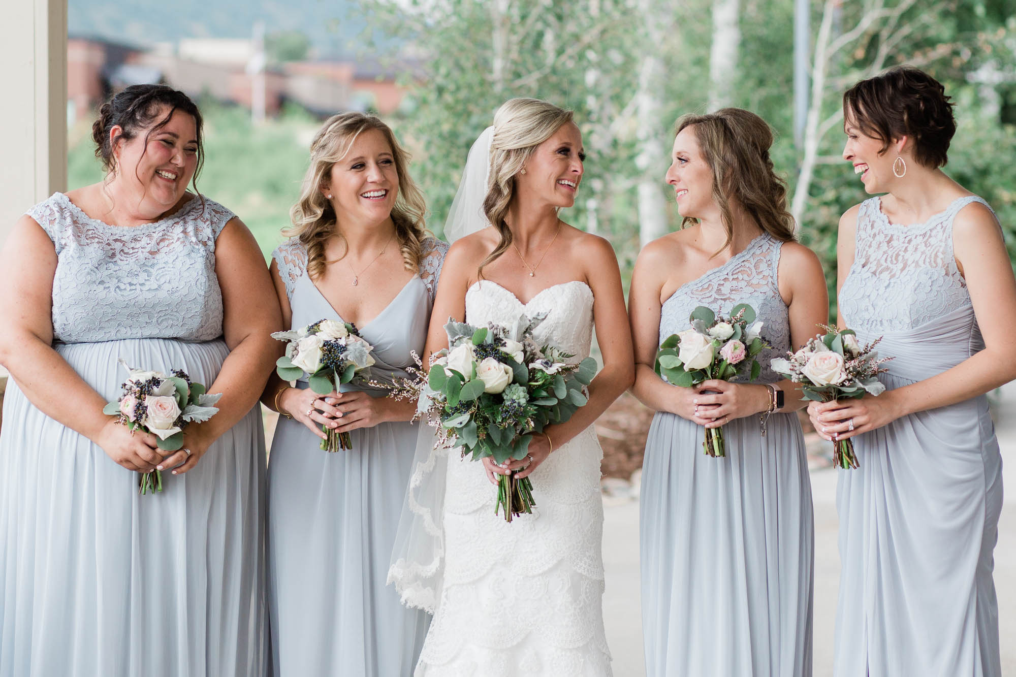 South Valley Park Bridesmaids Crew Photography