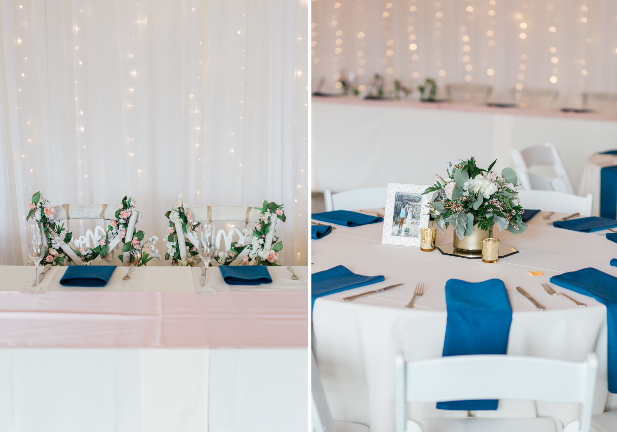 Colorado Outdoor Wedding Reception Details Photography at Wedgewood