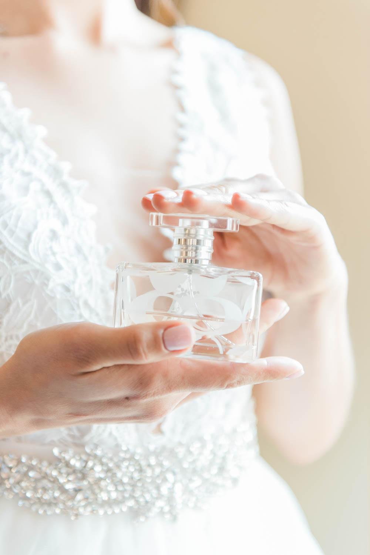 Fine Art Wedding Details of Perfume