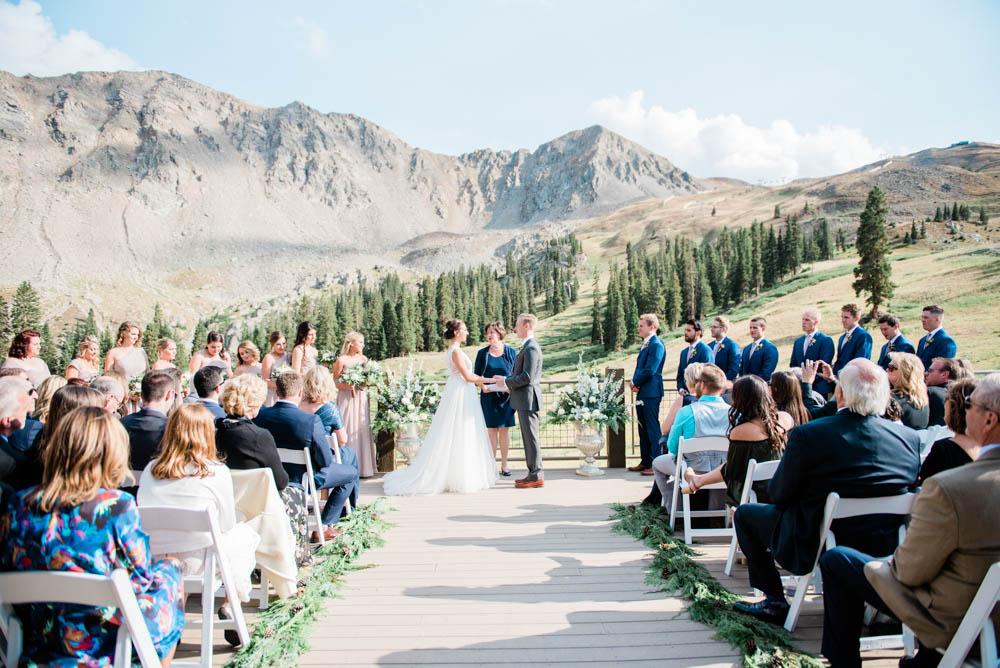Arapahoe Basin Wedding Ceremony