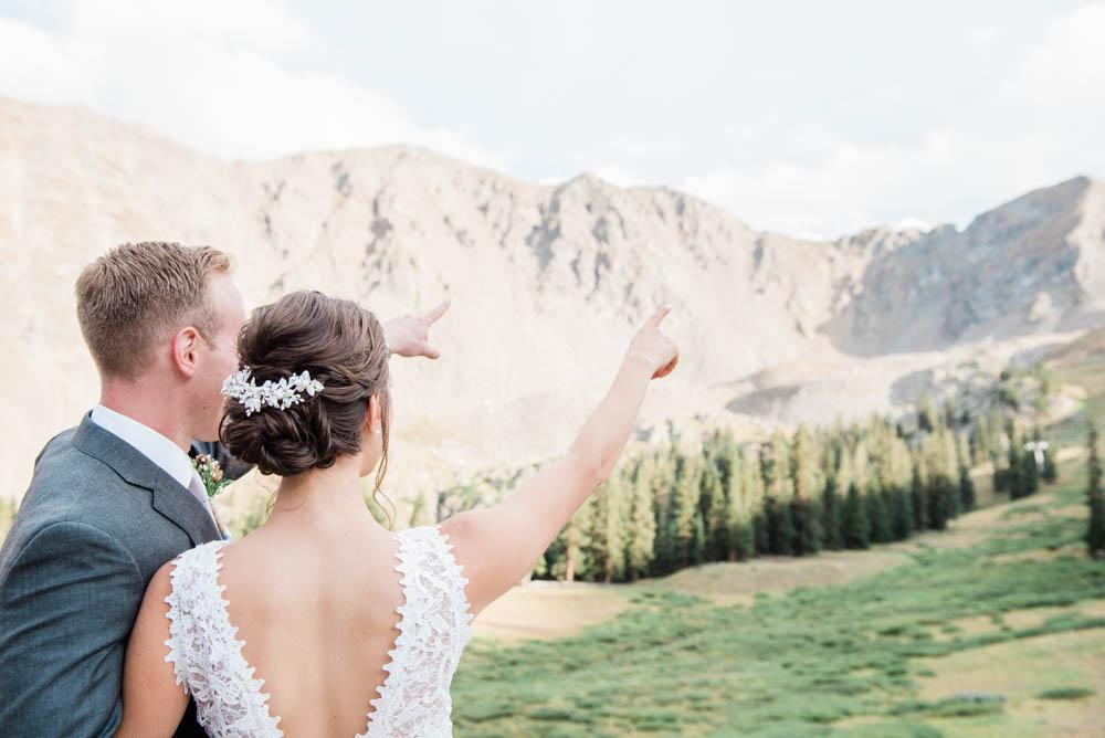 Adventurous Fine Art Mountain Wedding Photography