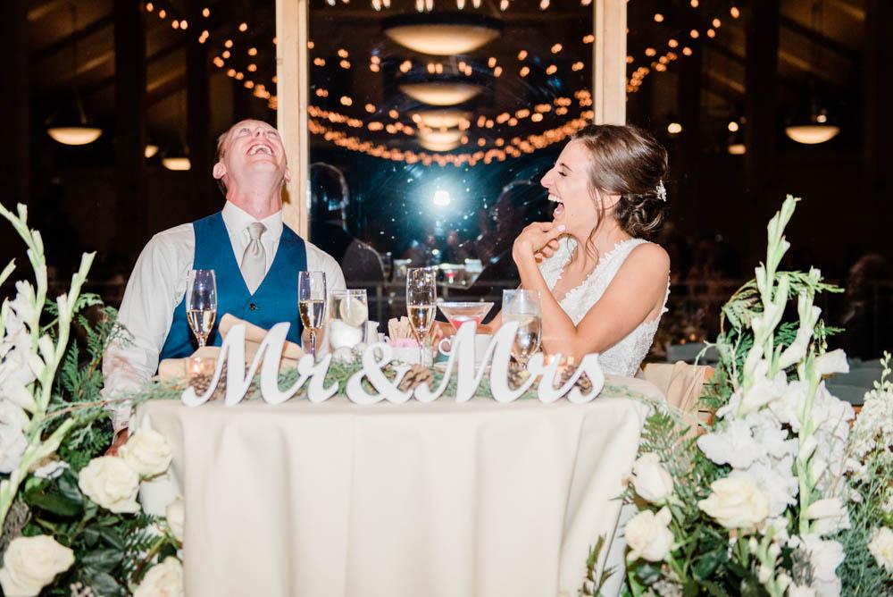 High Alpine Mountain Wedding Reception Toasts