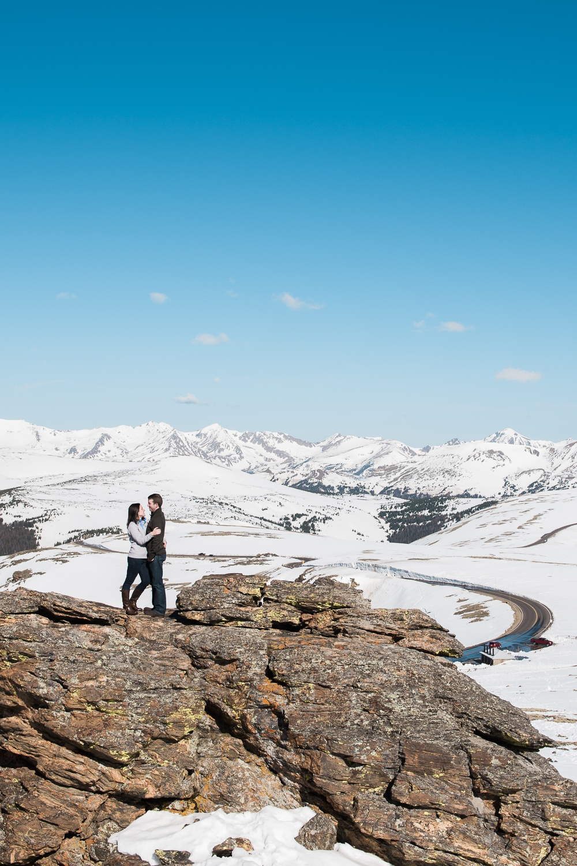 Rocky Mountain National Park Engagement - Jenny & Allen