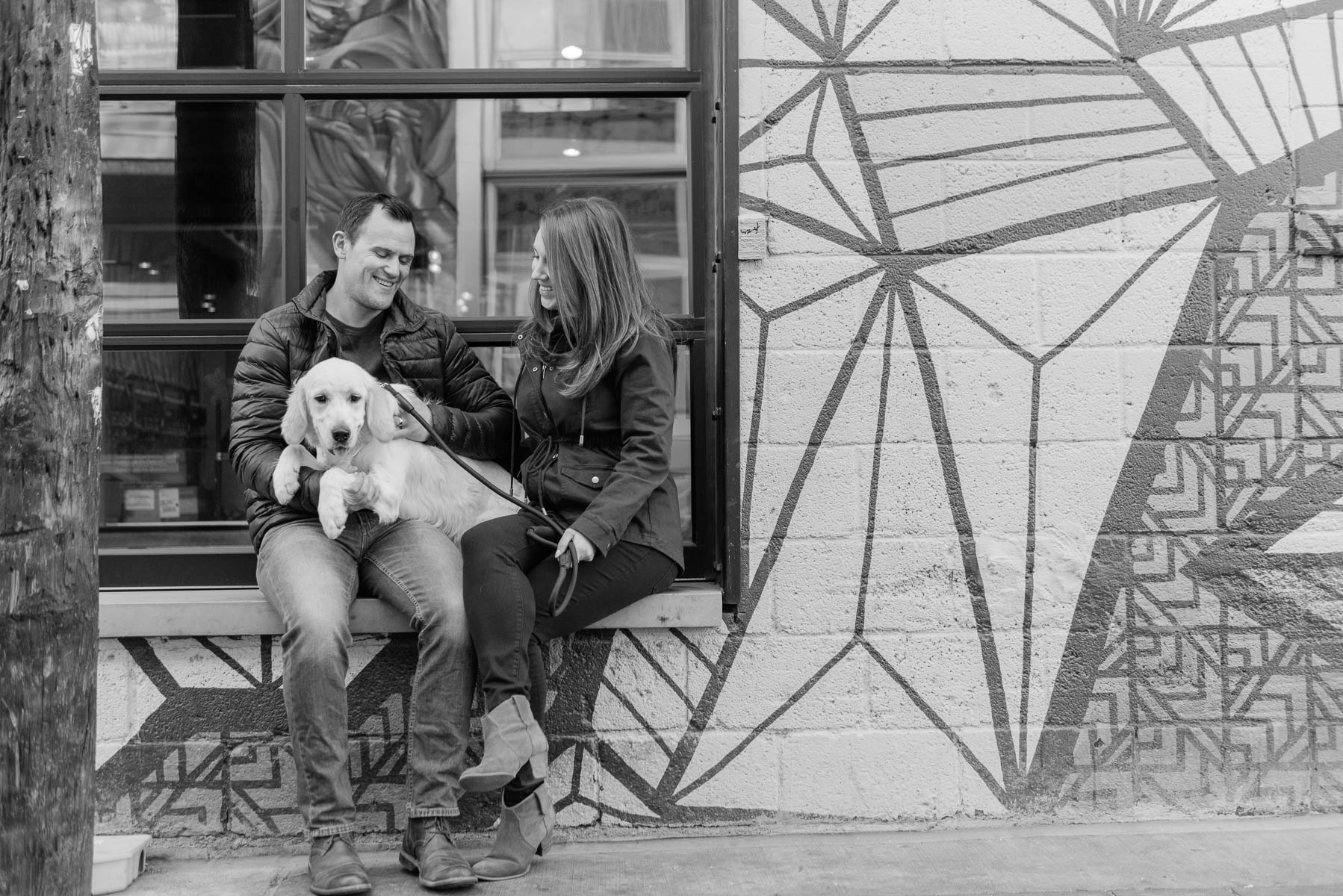 Denver Engagement Photography Session in RiNo