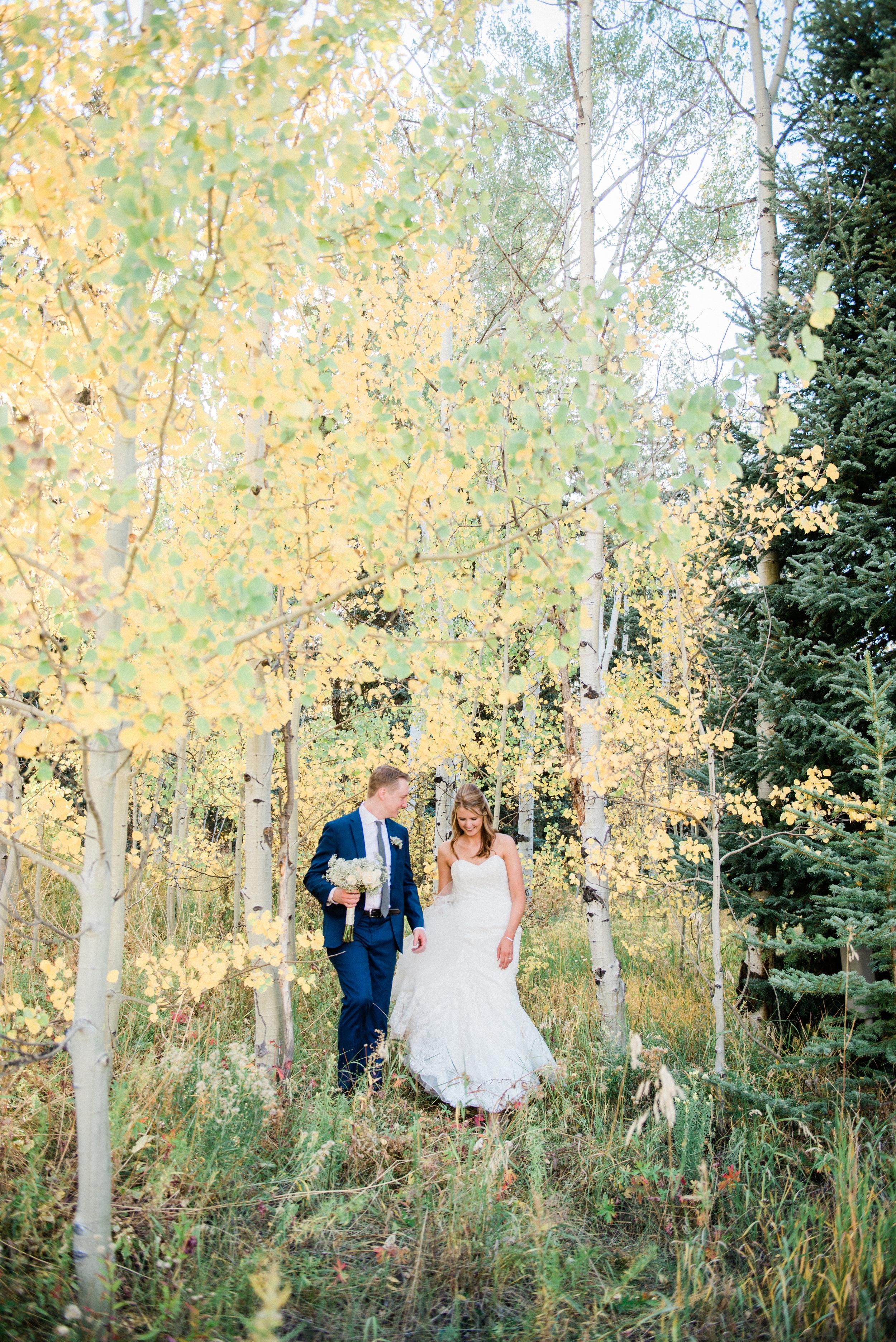 Mountain Fall Vail Wedding - Carly & Jordan