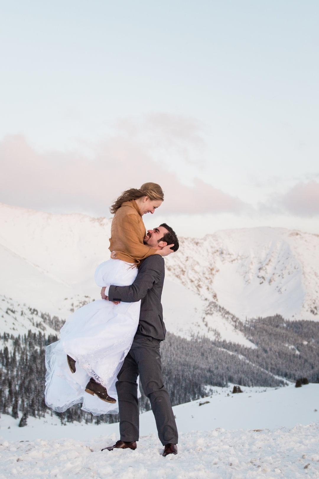 Winter Elopement - Rachel & Scott