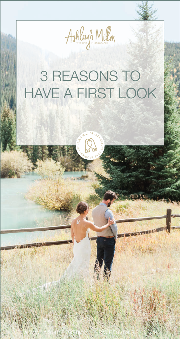 "3 REASONS TO HAVE A FIRST LOOK  Traditionally, the first time a groom saw his bride on the wedding day was when she walked down the aisle. But who says we have to stick to tradition?! Many brides are now opting to have a ""First Look"" on their wedding day. For those of you who don't know what a First Look is, it's the first time you see each other on your wedding day, but in private and before the ceremony. I am all for First Looks!  ASHLEIGH MILLER PHOTOGRAPHY www.ashleighmillerphotography.com"