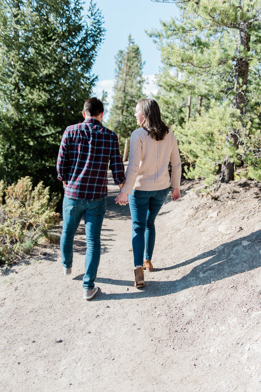 Colorado Hiking Engagement Session