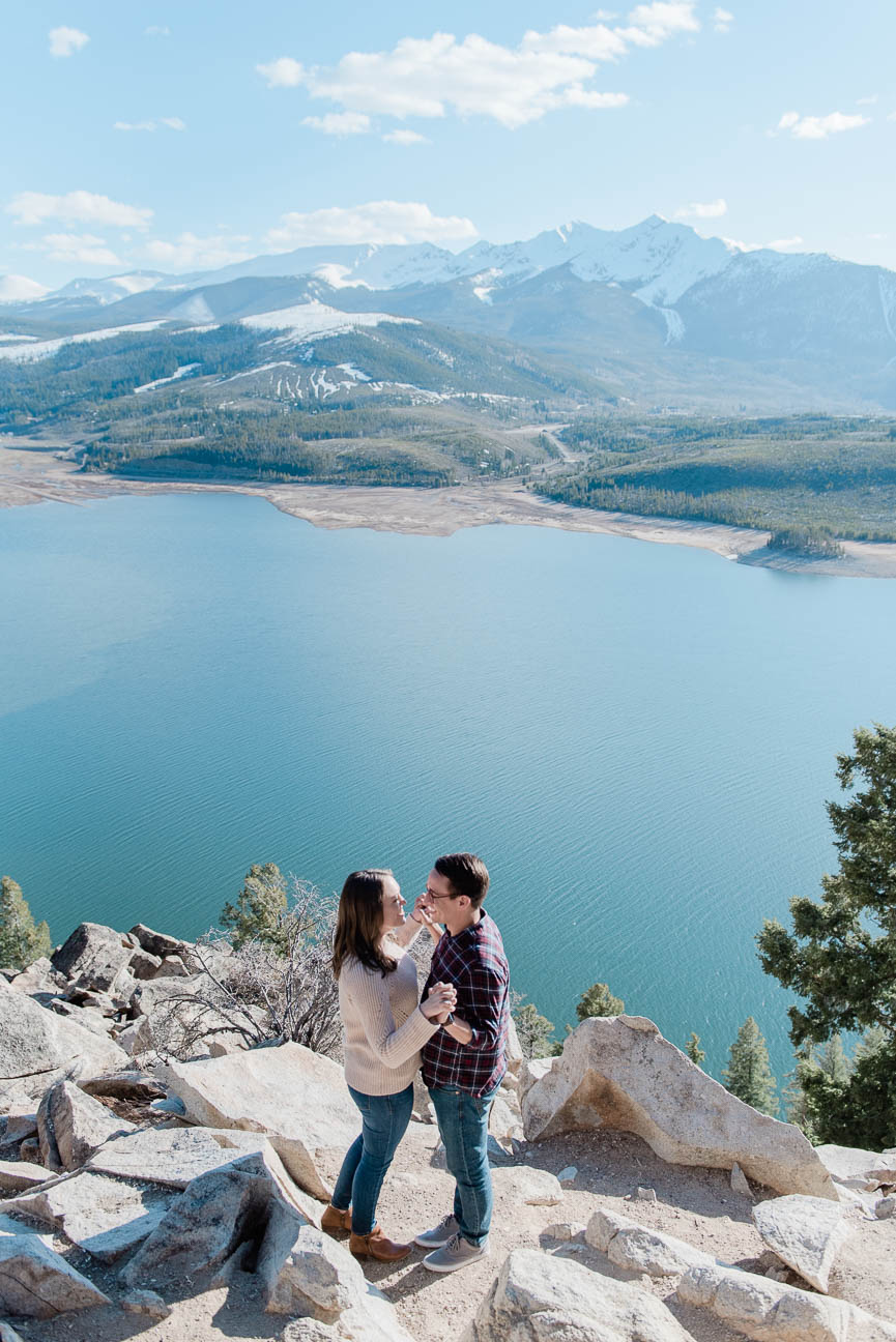 Colorado Adventure Hiking Engagement