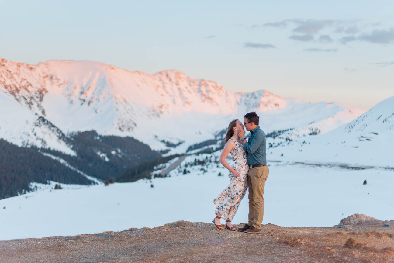 Colorado Adventure Hiking Engagement
