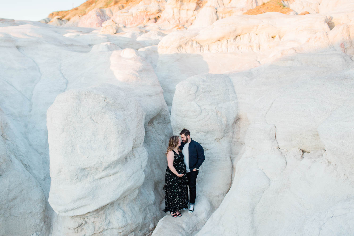Colorado Maternity Photography Session in the Paint Mines