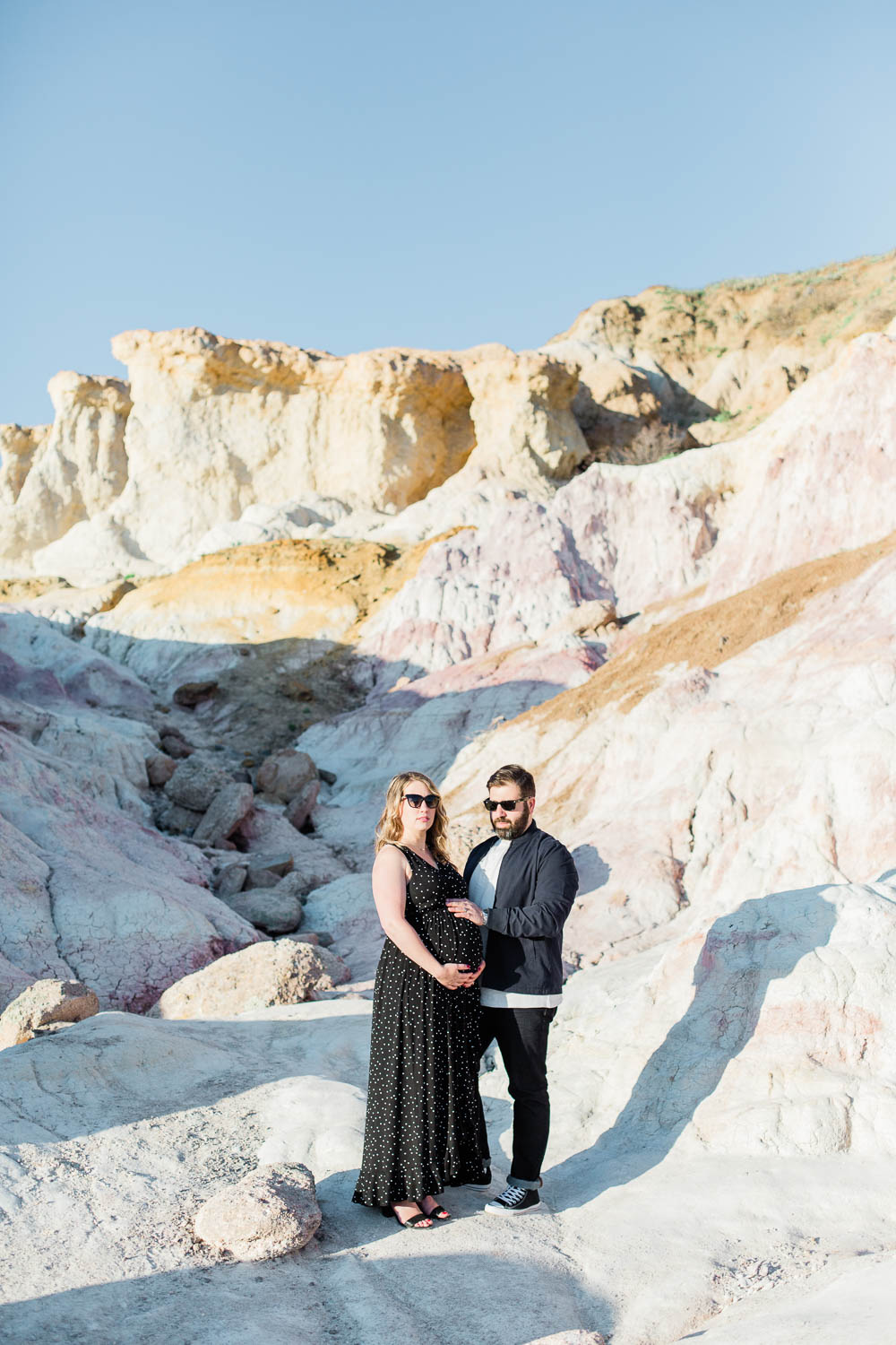 Colorado Maternity Photography Session in the Paint Mines. Wedding and Elopement Photography Company Ashleigh Miller Photography