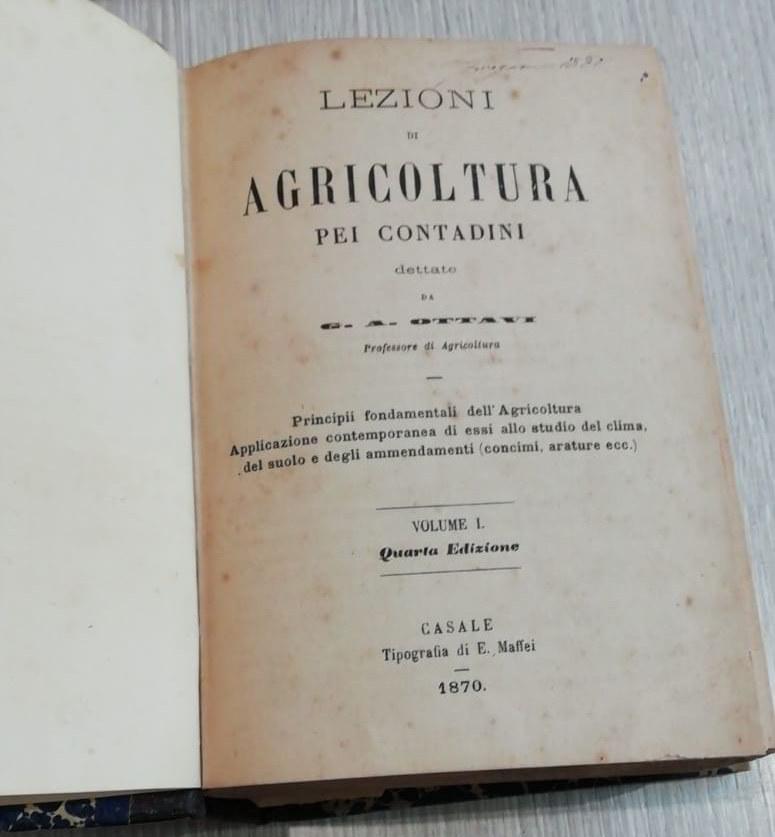 Manuale di Agricoltura - 1870