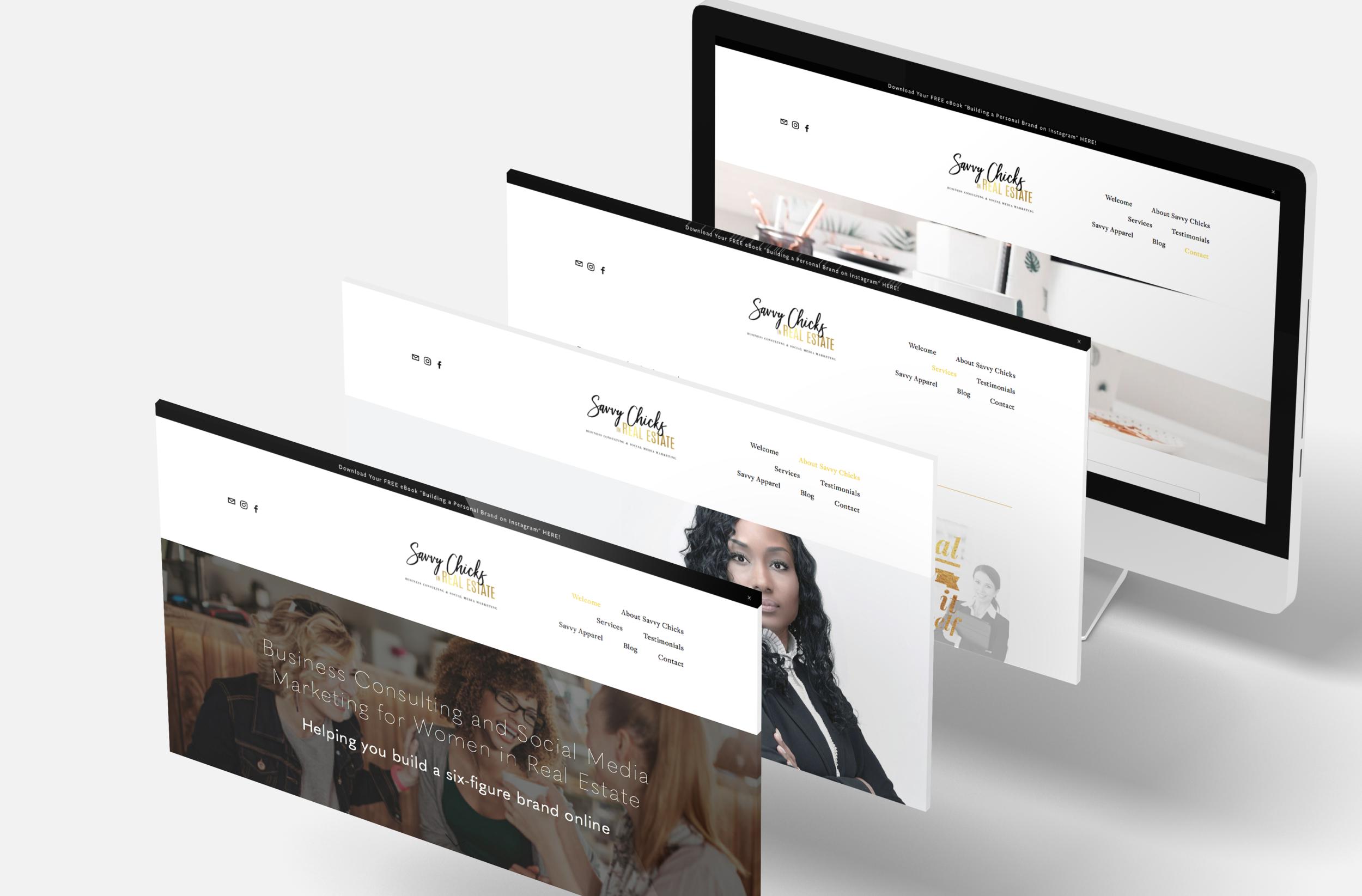 Website Portfolio Savvy Chicks in Real Estate.png