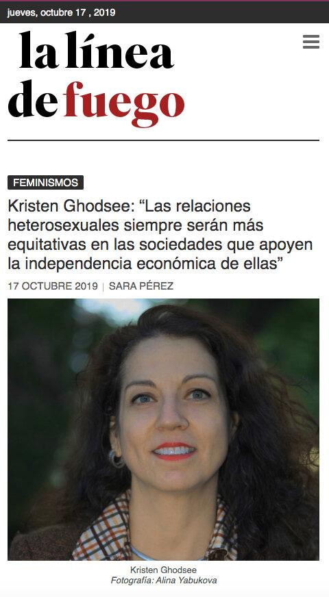 Linea del Fuego interview.jpg