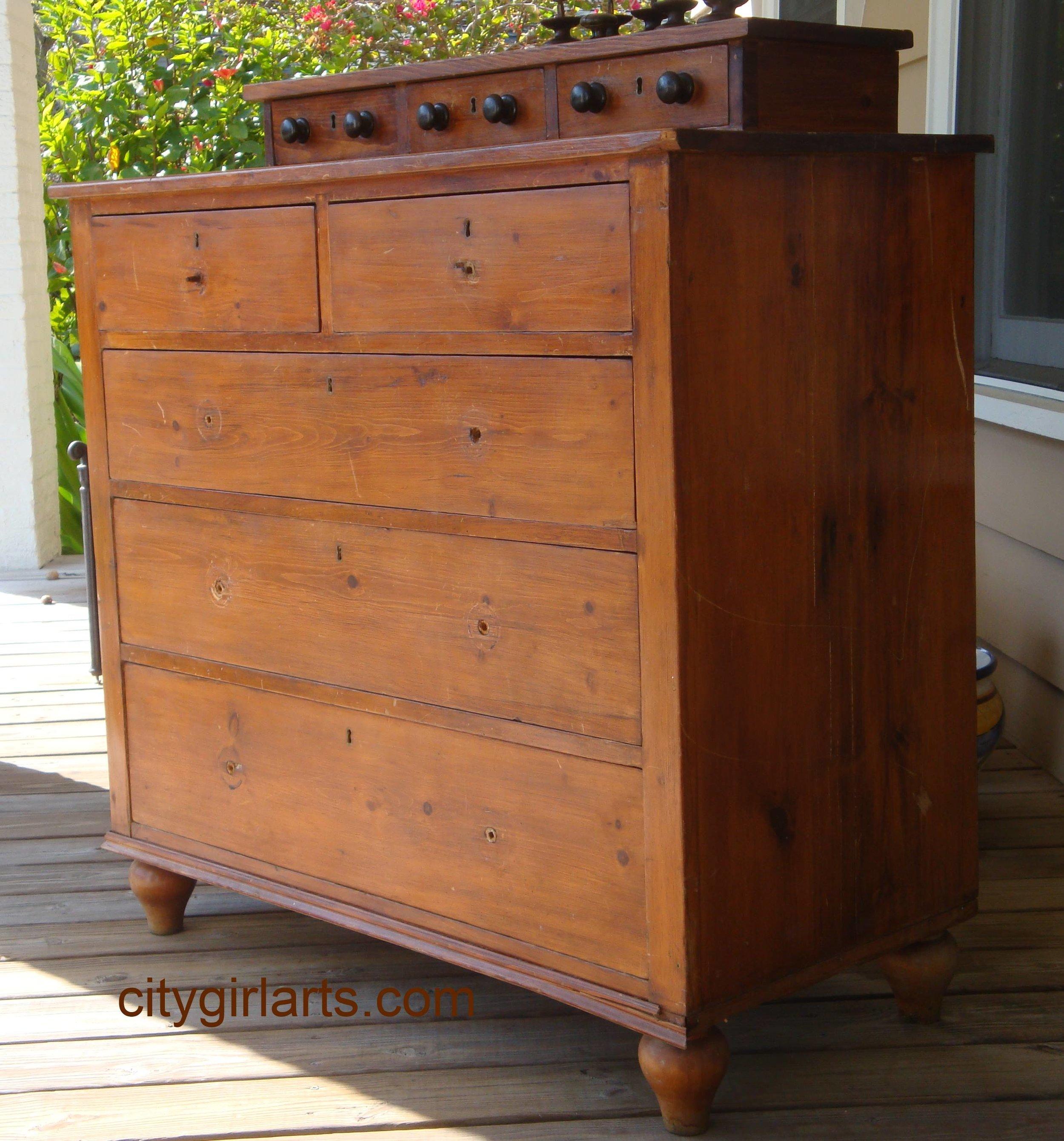 Old Pine Dresser before