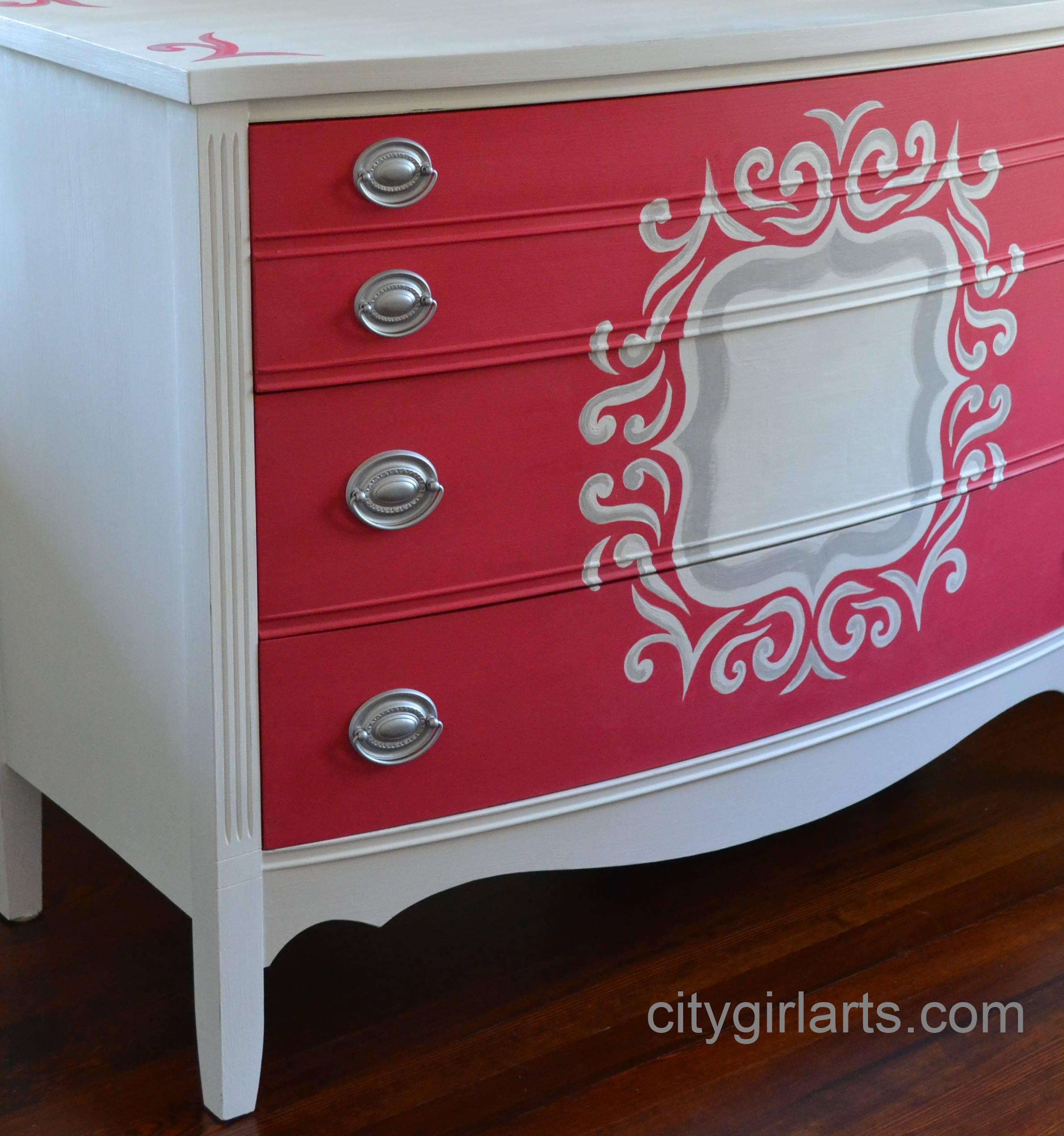 Quatrefoil Dresser Side