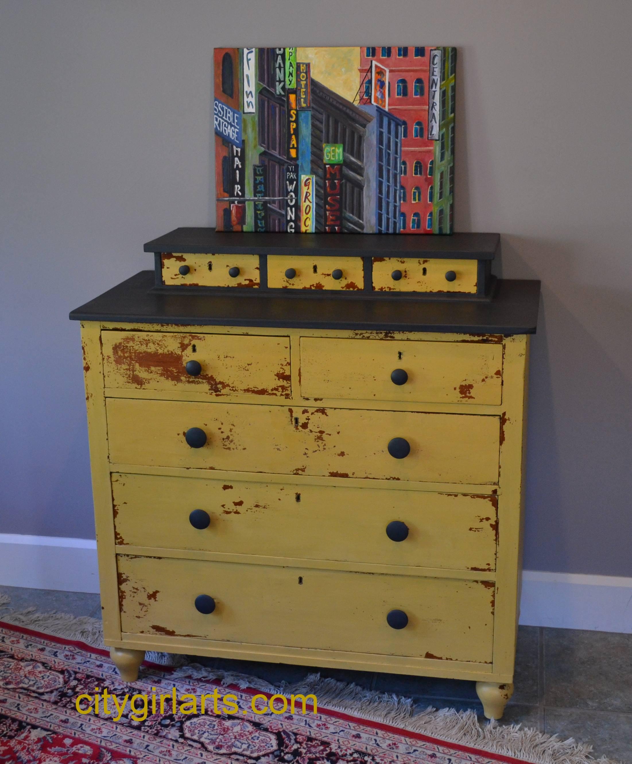 sunflower dresser