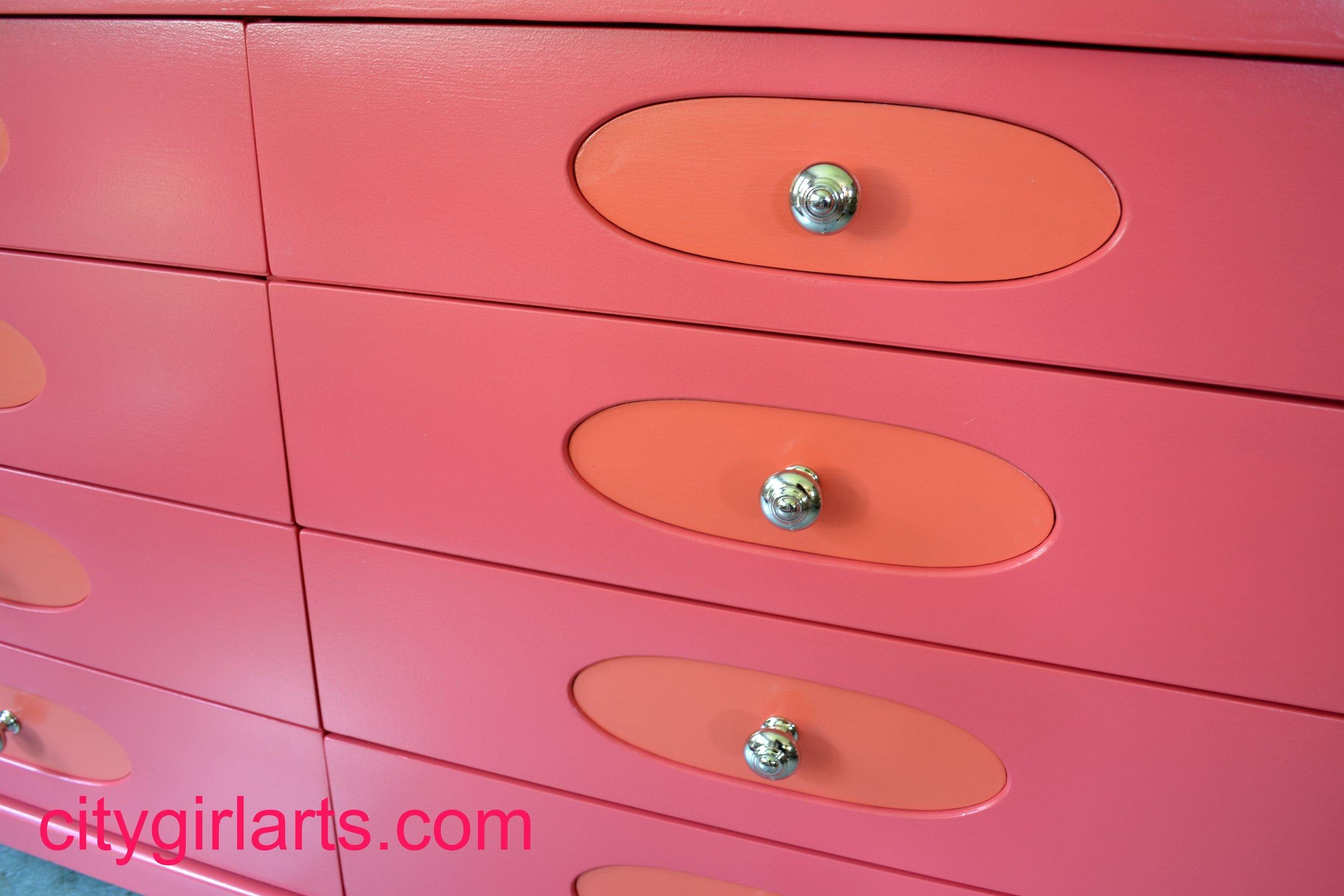 Hot Pink Dresser