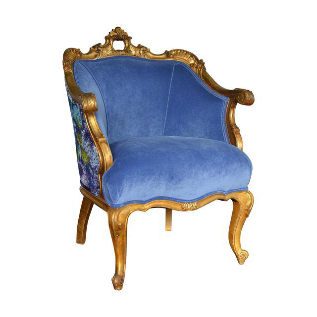 Gilded Chair French