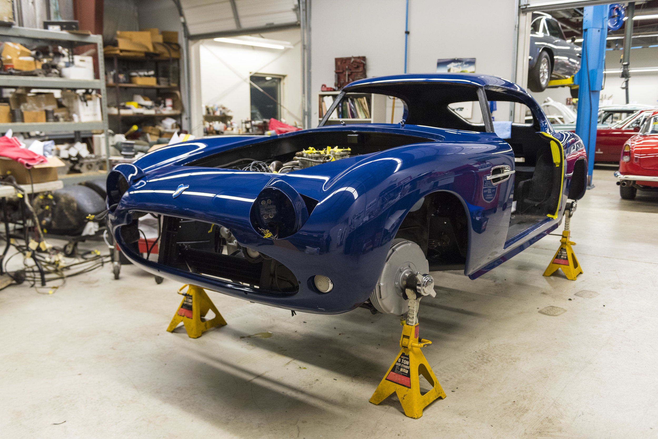 Restorations - We have built our reputation by providing our clients with the highest quality in classic vehicle restorations tailored to your specific needs.