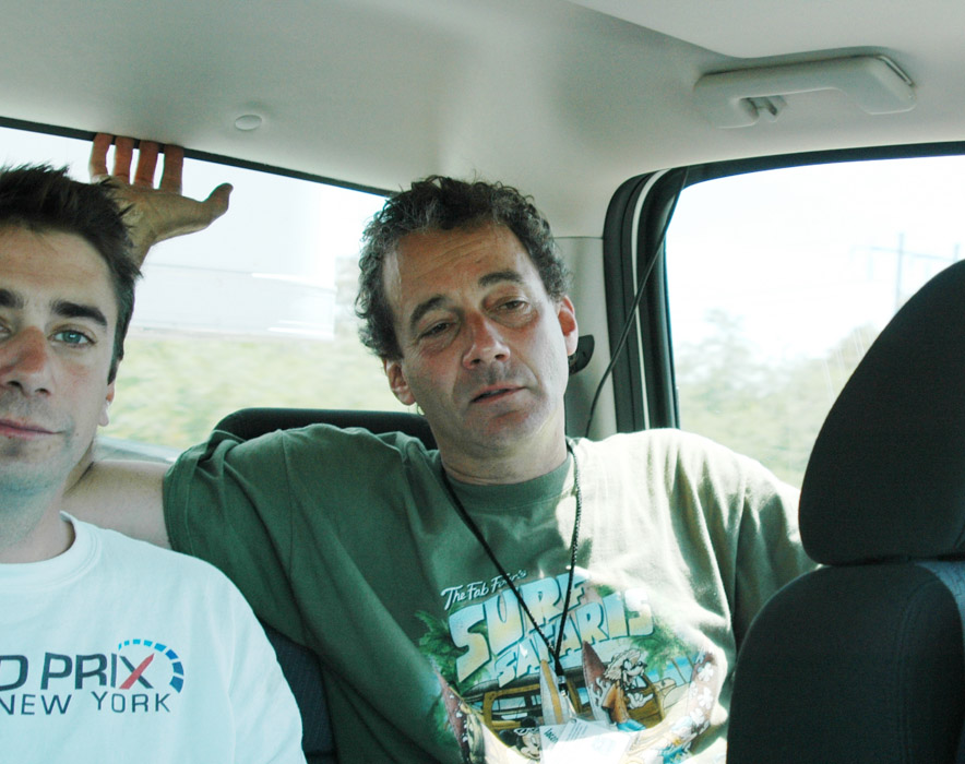 8A - David and Nat where they should not be..friding post crash in the truck.jpg