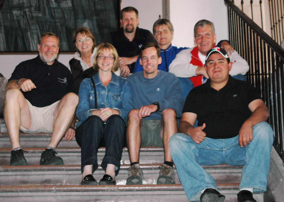 24A - The crew..time for a look around Aguascalientes.jpg