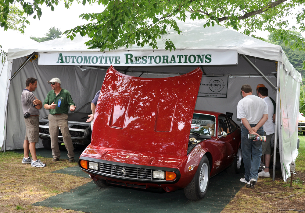 The Automotive Restorations Exhibit at The 2010 Greenwich Concours d'Elegance.