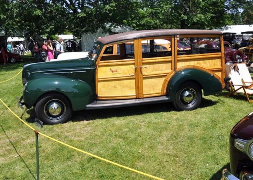 Andrew Bennenson 1939 Ford Wagon