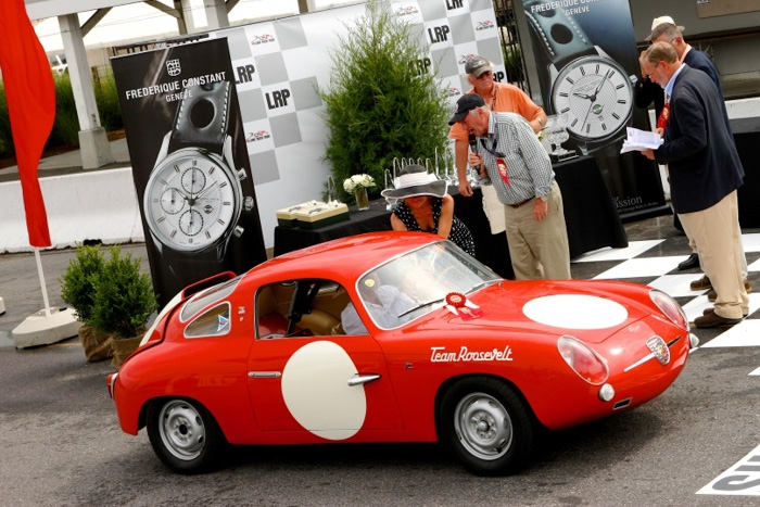 Mahlon Craft's raced AND shown Abarth takes the Power To Spare & Grace To Boot trophy.