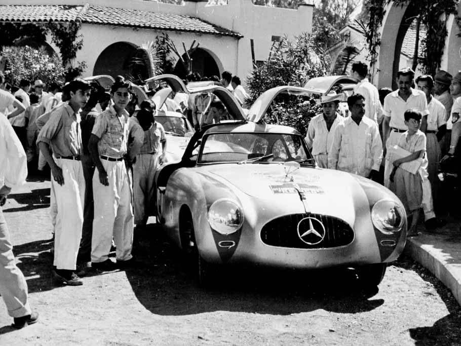 No, we don't quite go this far back but Mercedes Benz Carrera history is notable