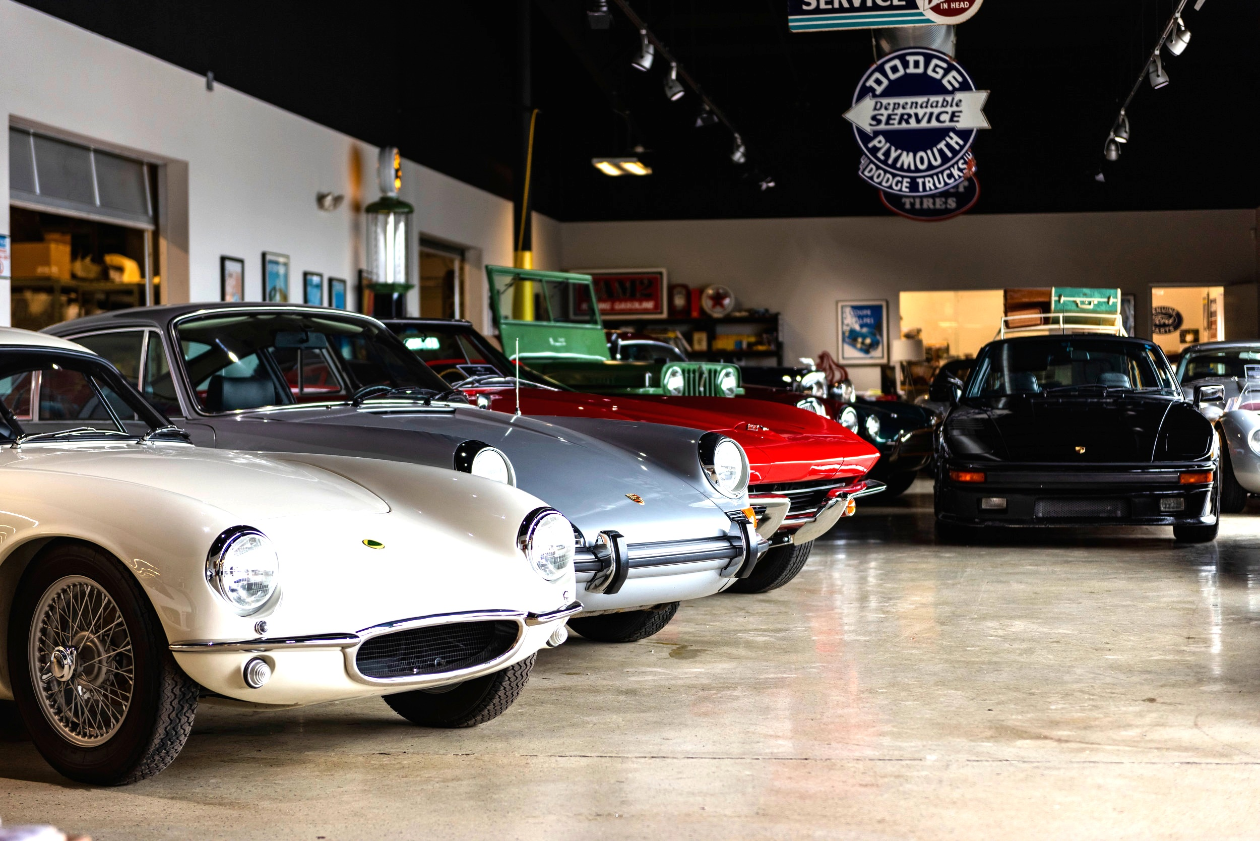 Vehicle Sales - Whether looking for a new project car or a freshly restored concours winner, our sales staff are among the most trusted in the business.