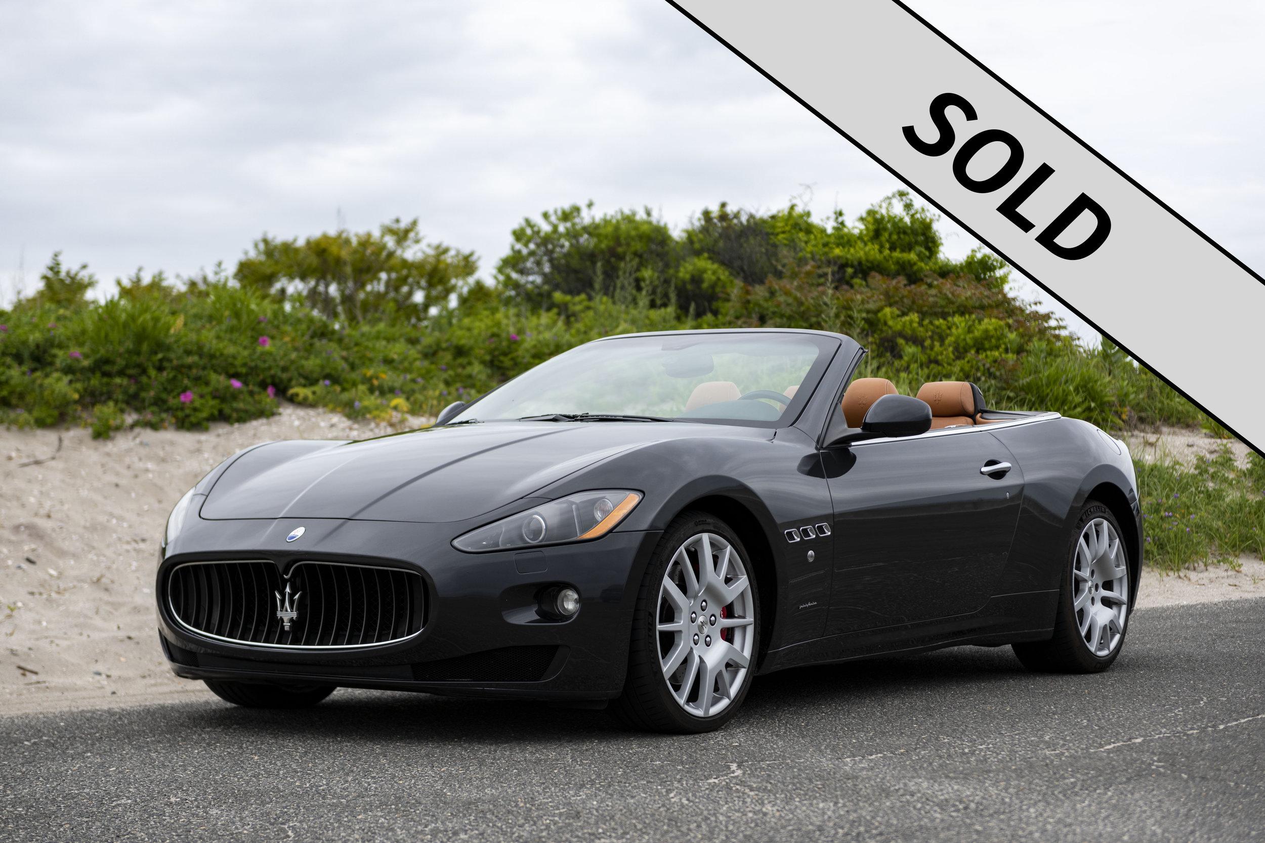 2010 Maserati GranTurismo S C SOLD.jpg