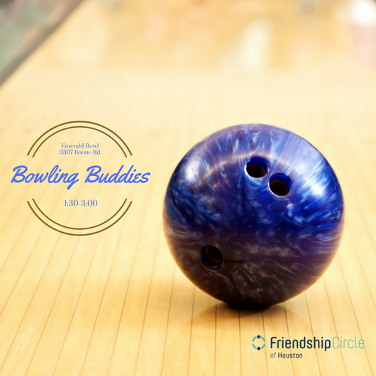 Bowling Buddies - Held monthly, on the first or second Sunday of the month at Emerald Bowl. Bowling Buddies gives the opportunity for participants, both volunteers and families alike, to socialize and create everlasting bonds in a relaxed setting.