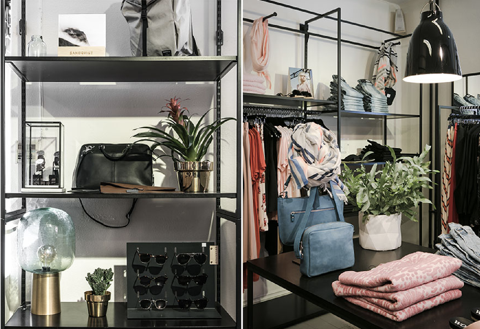 Stockholm - Plagg - With their 3 unique stores in Stockholm City we are so happy to be part of their offer of brands focusing on beautiful design and great quality. Assortment at Plagg:Currently you find all of our RETACH Canvas bag straps in their shop at Rörstrandsgatan 8.
