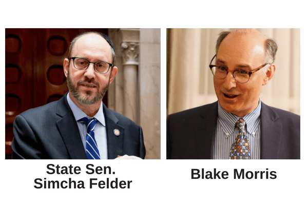 Skinner, Progressive Dems Move To Have Felder Excommunicated - One of Brooklyn leading progressive idealogues yesterday delivered a letter with over 20 signed affidavits from registered Democrats to Brooklyn Democratic Party chair Frank Seddio asking that State Sen. Simcha Felder (D) be removed from the Democratic party for his lack of sympathy and loyalty to the party.(Kings County Politics, 7/20/18)