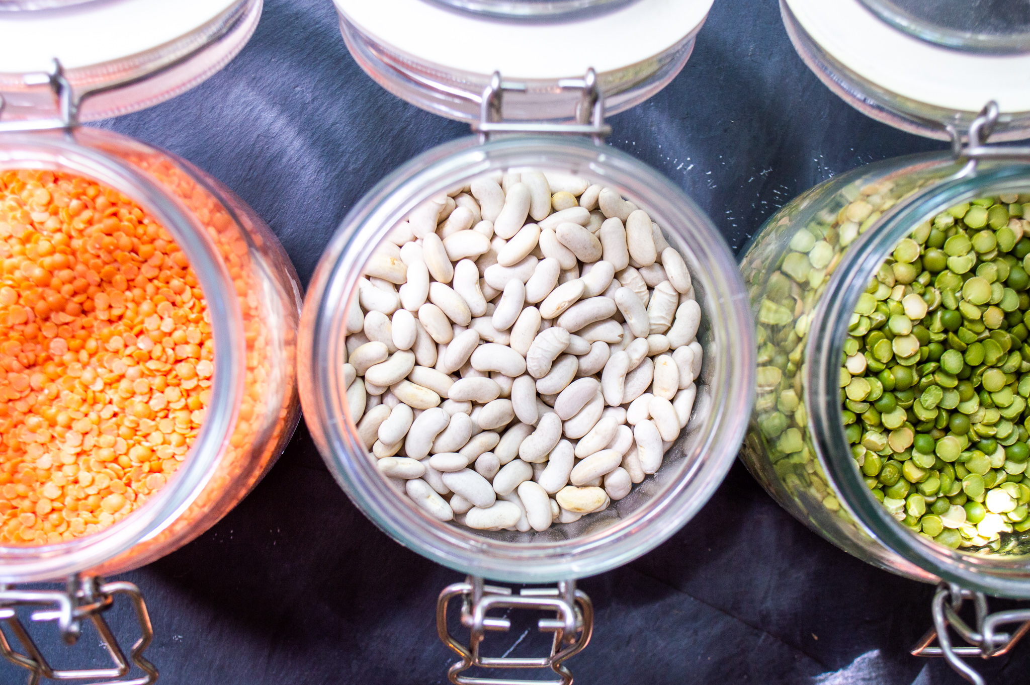 LEgumes - Peas, chickpeas, lentils, all the kinds of beans