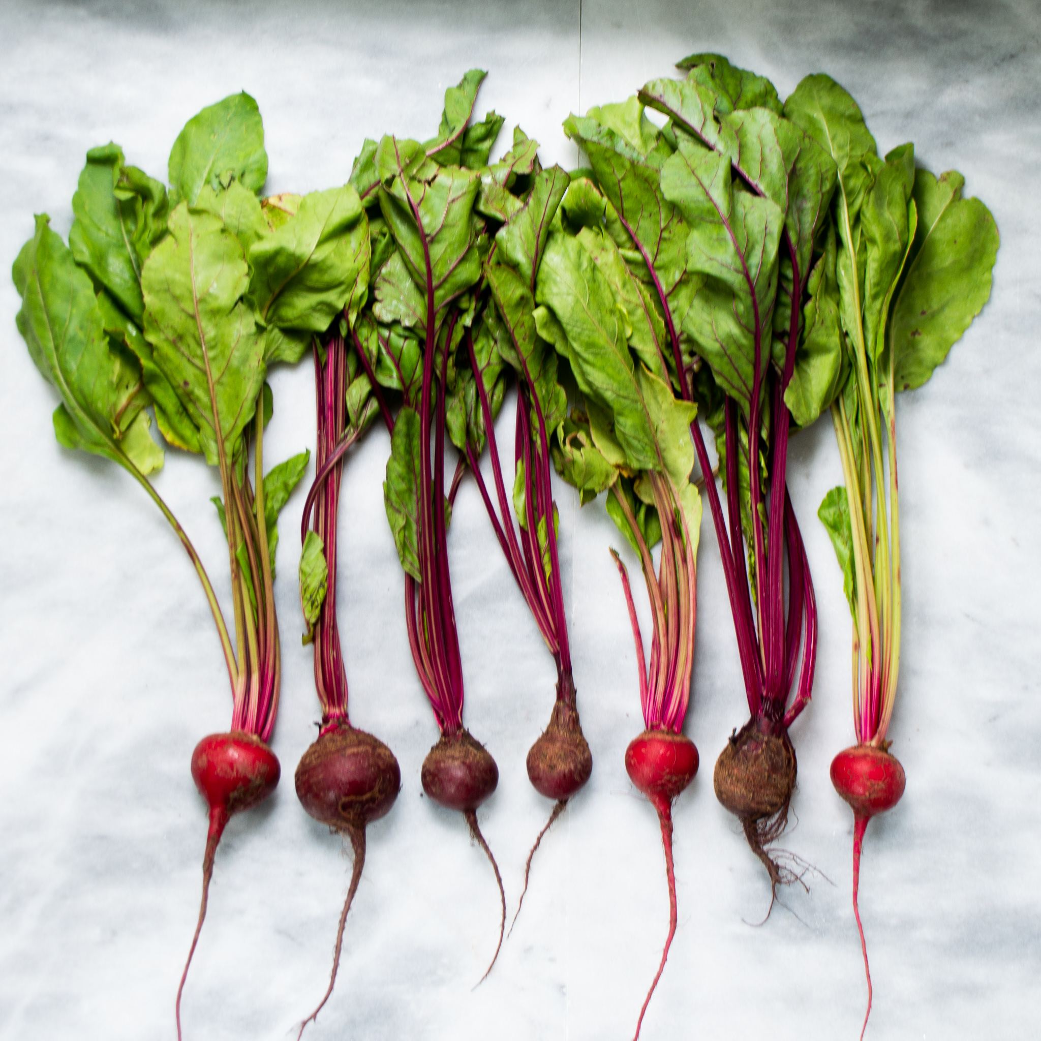 raw beets from the farmers market