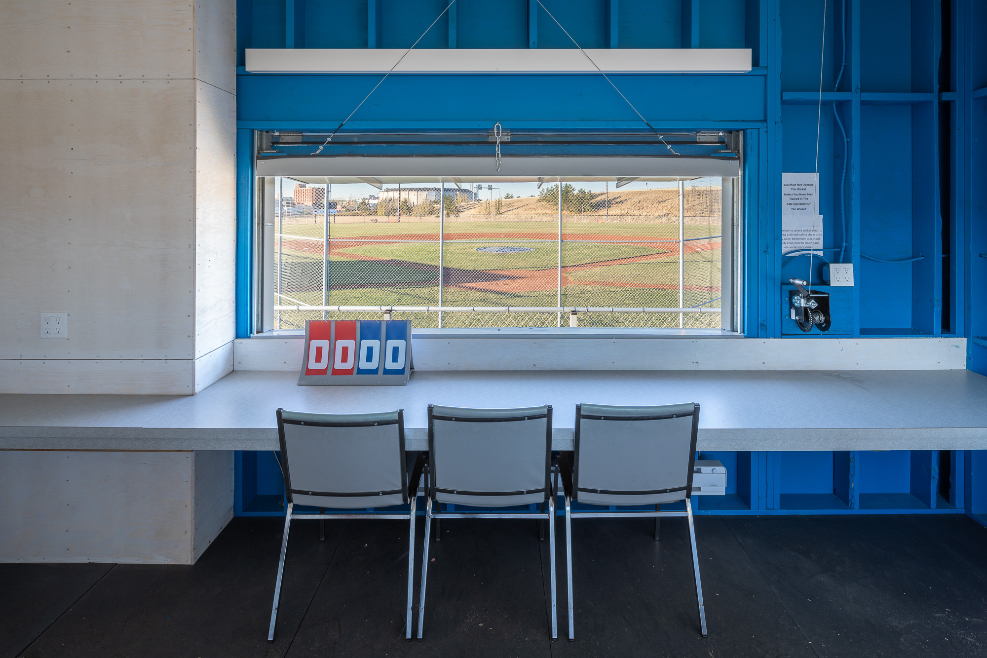 Wally Footz Field Scorekeeper Building