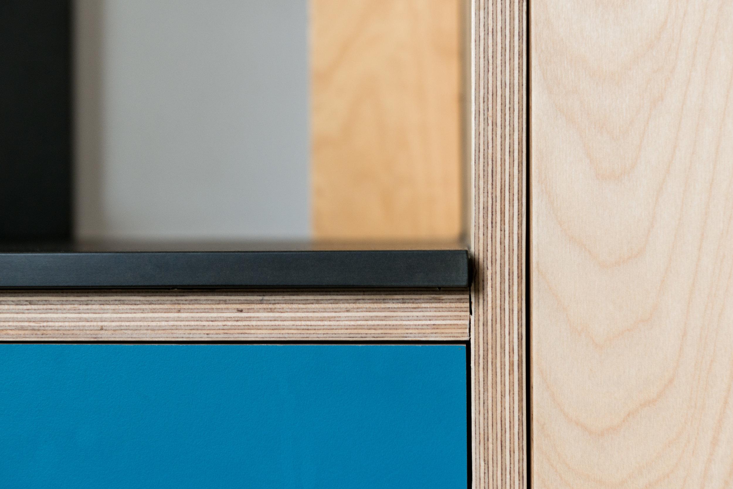 My House Plywood Kitchen - MW Architects