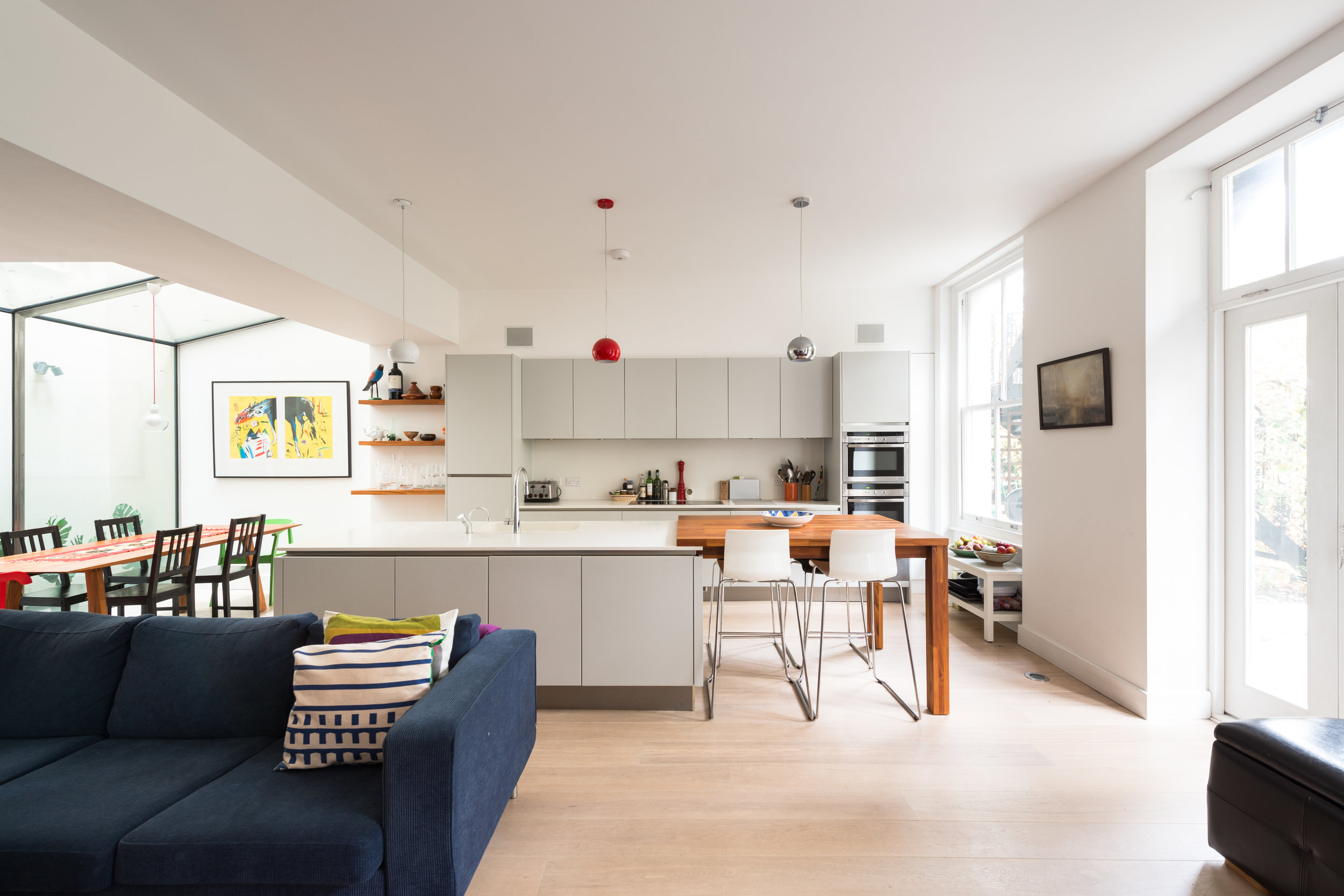 Warrington Crescent Kitchen - MW Architects