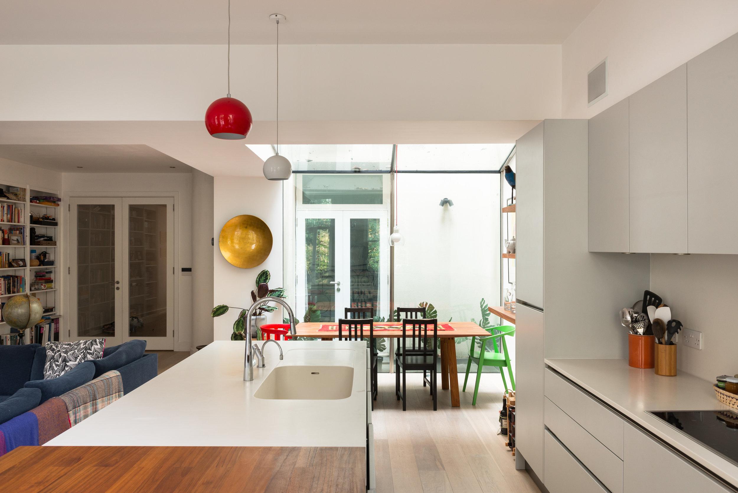 Warrington Crescent Kitchen Dining - MW Architects