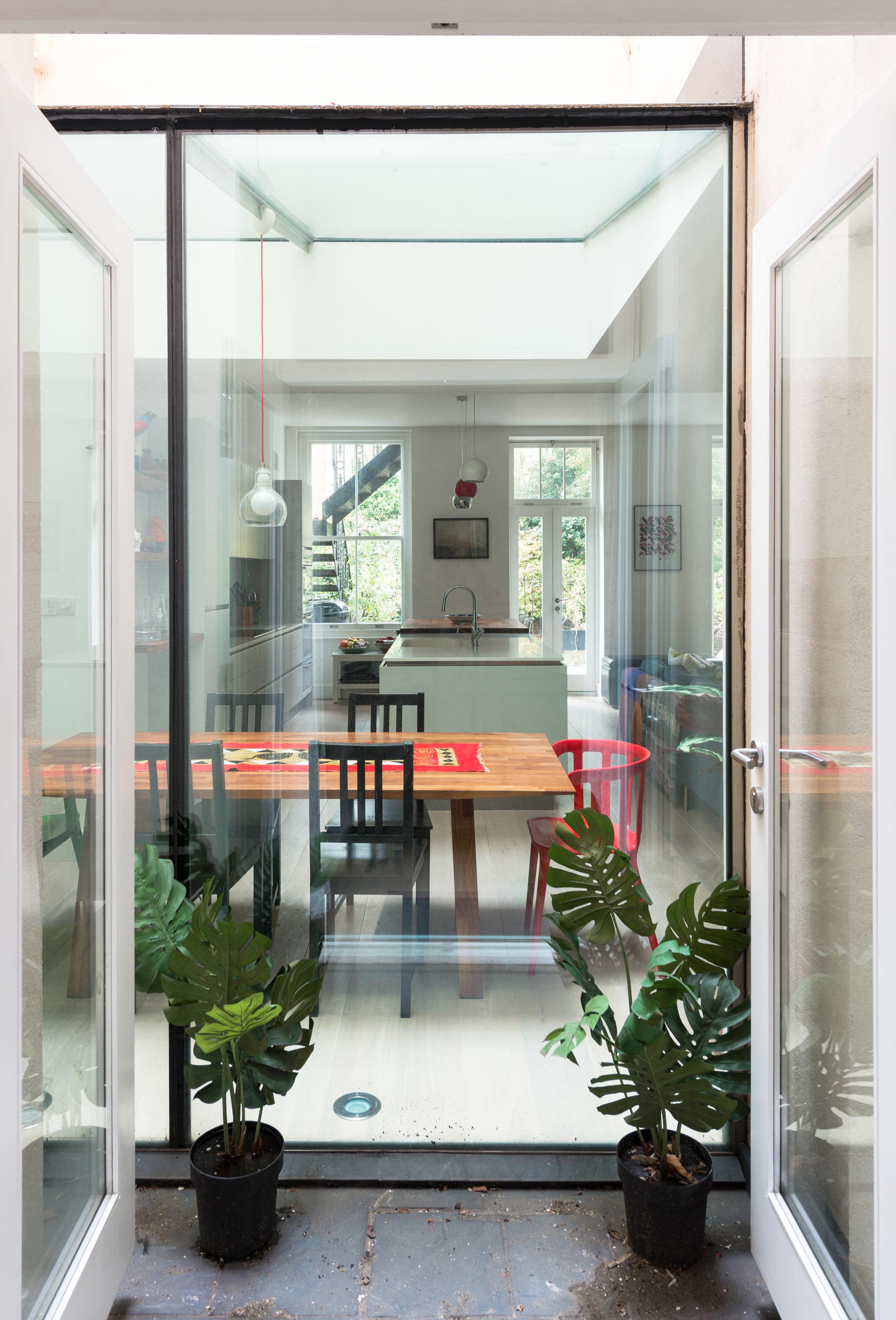 Warrington Crescent Glass Garden - MW Architects