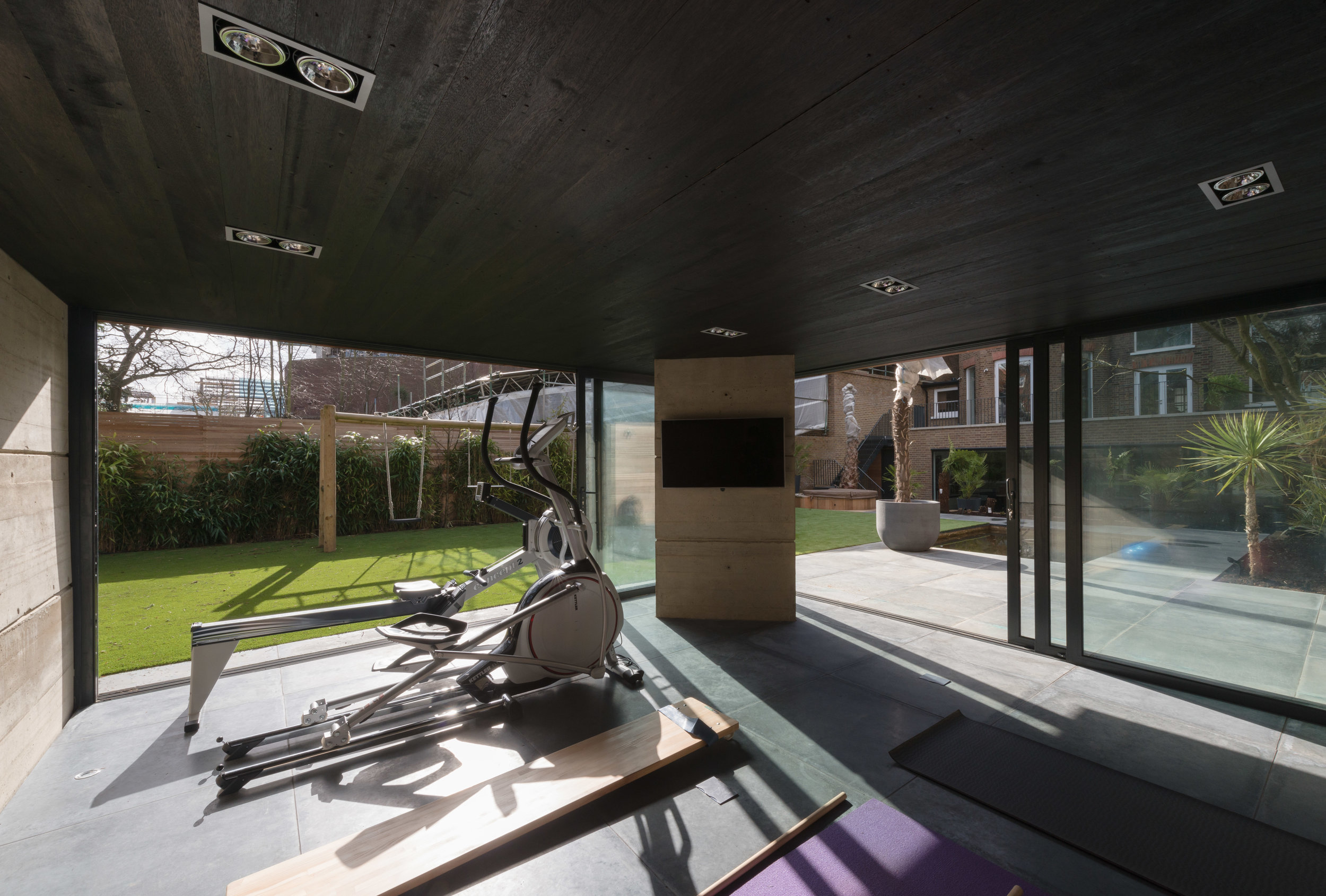 Yoga Pavilion Home Gym - MW Architects