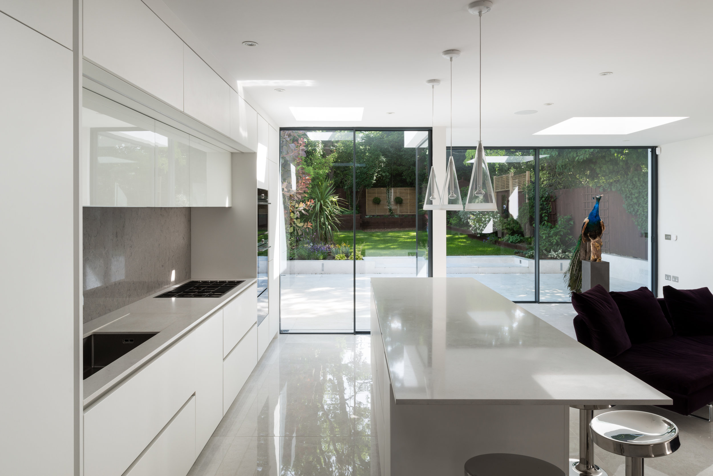 Peacock House Kitchen - MW Architects