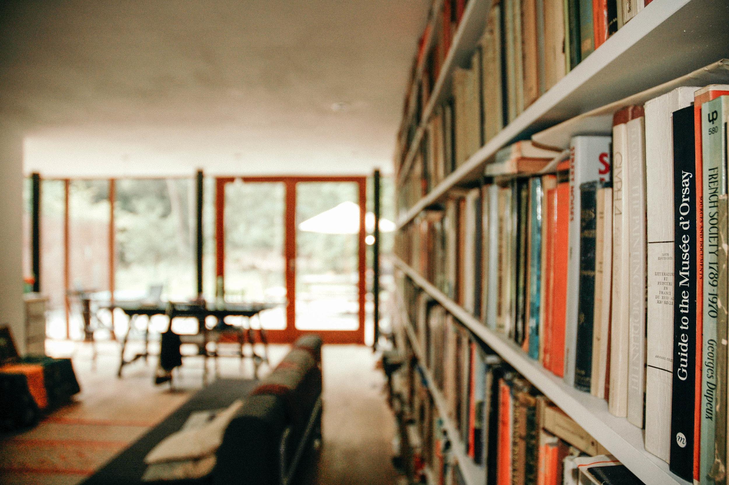 Rackham Library Books - MW Architects