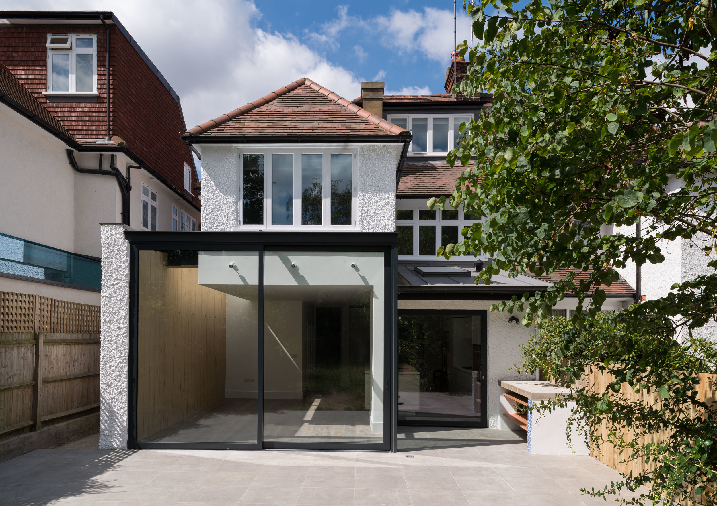 Hodford Road Rear External - MW Architects