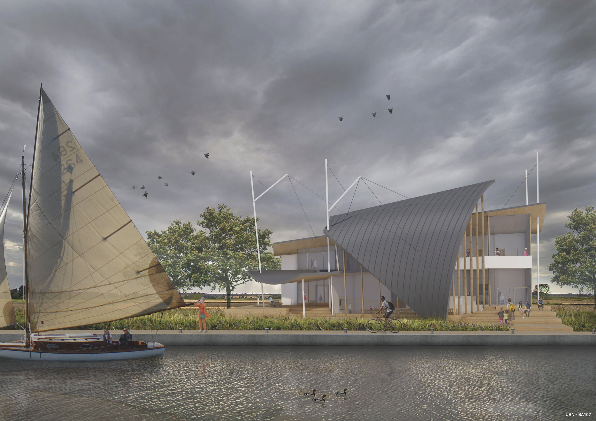 Acle Bridge Visitor Centre - MW Architects